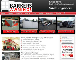 barkersawnings.co.uk